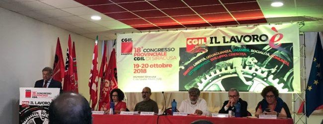Siracusa| Cgil, riconfermato il segretario Roberto Alosi