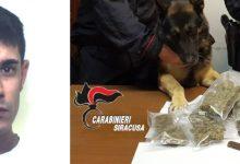 Augusta| Nascondeva 500 g di droga dietro il forno: arrestato dai carabinieri 28enne augustano