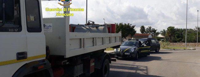 Siracusa| Sequestrati 1000 litri di gasolio per contrabbando