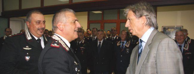 Siracusa  Visita del comandante Legione Carabinieri Sicilia Cataldo