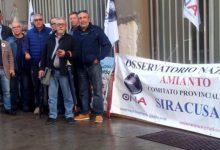 Siracusa| ONA, sit in ad oltranza contro killer amianto