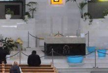 Siracusa| Piove in Santuario: tolto Quadro del Pianto, niente messe