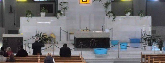 Siracusa  Piove in Santuario: tolto Quadro del Pianto, niente messe