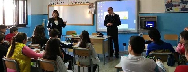 Augusta  Ed alla legalità: al Corbino tiene lezioni il comandante stazione carabinieri