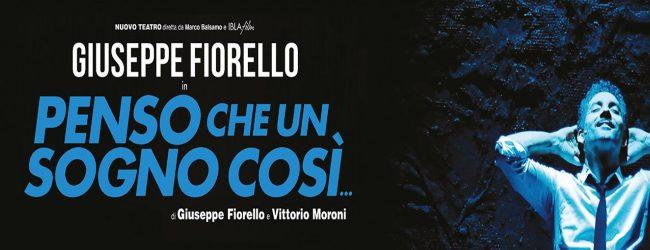 Catania| Penso che un sogno cosi… L'augustano Giuseppe Fiorello emoziona al Metropolitan