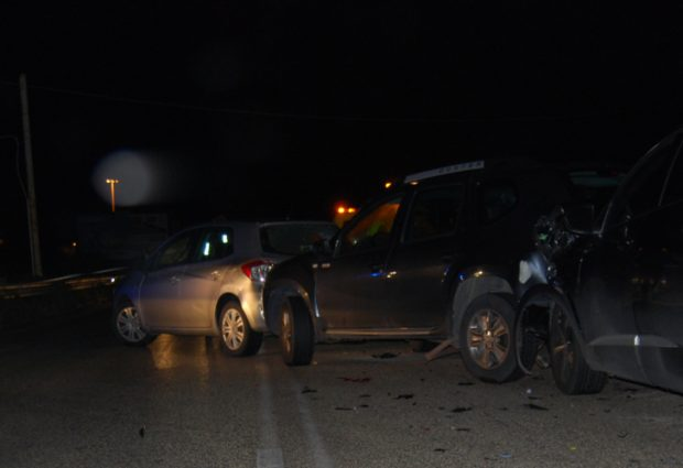 Siracusa| Scontro fra tre auto in contrada Spalla. Sette persone ferite
