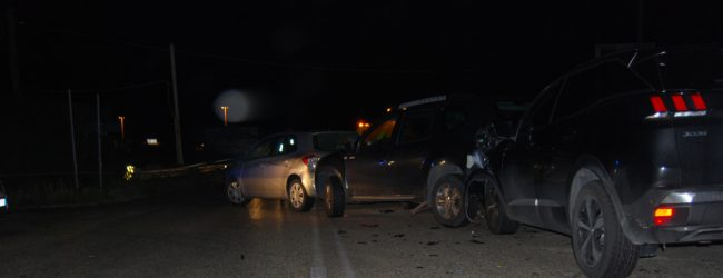 Siracusa  Scontro fra tre auto in contrada Spalla. Sette persone ferite