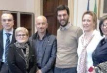 Augusta  La First con a capo Sebastiano Amenta a Palazzo Chigi per la tutela della disabilità
