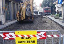 Lentini | Riqualificazione via Garibaldi, cominciati i lavori del secondo lotto