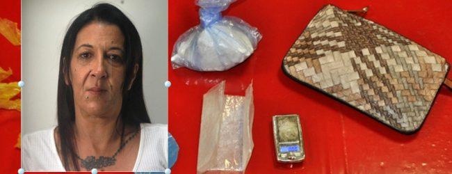 Augusta| Quarantottenne arrestata per detenzione di cocaina ai fini di spaccio