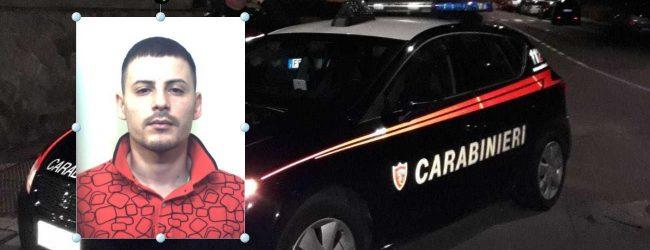 Augusta  Detenuto domiciliare sorpreso per strada: arrestato dai carabinieri.