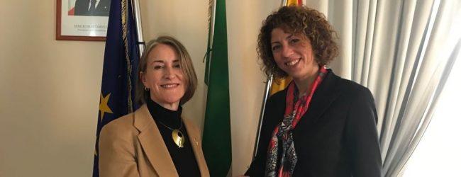 Augusta| Il sindaco ha incontrato il console generale d'America a Napoli.