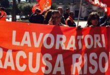 Siracusa| Occupata sede Siracusa Risorse. Contratti senza parti sociali