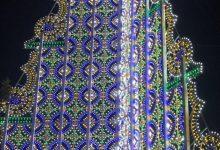 Siracusa  E' Natale con gli alberi di luci in Piazza Duomo e Mazzarona