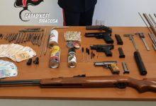 Noto| Trovato con due pistole in casa, arrestato