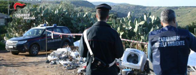 Francofonte| Sequestrata discarica per rifiuti pericolosi