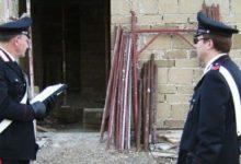 Siracusa| Ruba impalcature in una villetta a Monasteri, arrestato