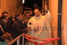 Augusta| Pedana donata dai consiglieri Tribulato e Pasqua alla chiesa di San Nicola di Brucoli.