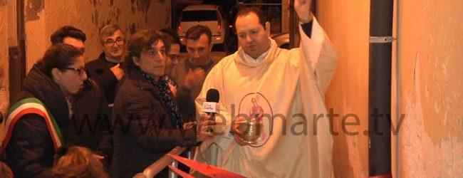 Augusta  Pedana donata dai consiglieri Tribulato e Pasqua alla chiesa di San Nicola di Brucoli.
