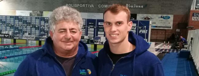 Siracusa  Nuoto. Campionati Italiani Open 2018. Matchball presente con Faraci