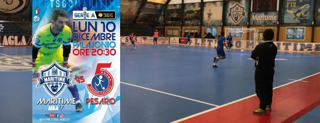 Augusta| Serie A, Calcio a 5: Oggi il big match Maritime Augusta-Italservice Pesaro