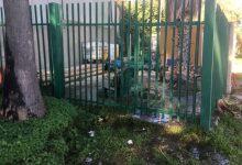 Augusta| Rottura di un tubo del pozzo dei giardini pubblici.