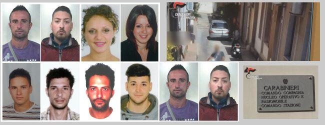 Siracusa| Operazione antidroga, dieci arresti anche per estorsione