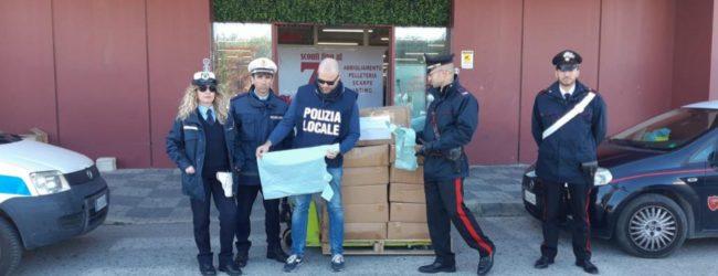 Melilli| Sequestrate buste plastica e batterie, maxi multa da 123 mila euro