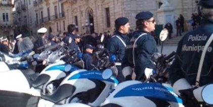 Siracusa  Festa Polizia Municipale. Venerdì schieramento in Piazza Duomo