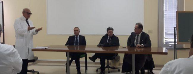 "Avola| Asp, il manager Ficarra fa tappa all'ospedale ""Di Maria"""