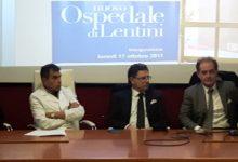 Lentini | Ospedale, Ficarra: «Nessun interesse a chiudere o ridimensionare reparti efficienti»