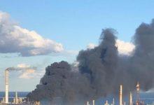 Priolo| Incendio all'impianto Versalis. Pericolo rientrato