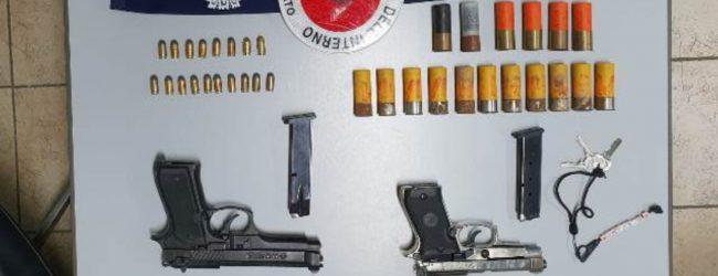 Siracusa| A vent'anni con pistole nascoste nel terrazzo