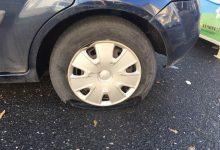 Augusta| Due ruote dell'automobile del sindaco tagliate.