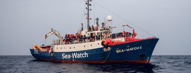 """Augusta  100 Passi appello: """"consentire riparo nel porto ai migranti della Sea Watch"""""""