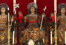 Lentini | Chiesa della Fontana, colletta per restaurare le statue dei tre santi