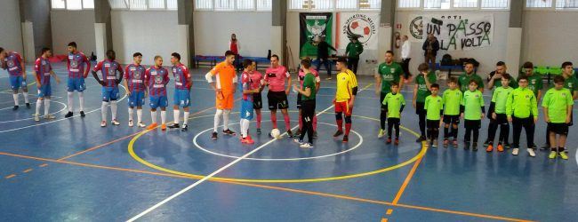 Melilli| Finale dal PalaMelilli: Assoporto &#8211; Catania 7-1<span class='video_title_tag'> -Video</span>
