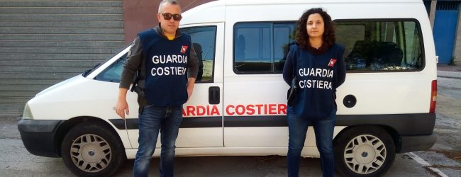 Augusta| Pesca abusiva di novellame: la Guardia costiera sequestra e sanziona.