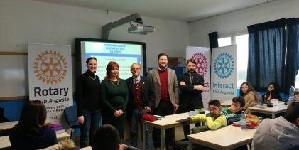 Augusta| Concorso Rotary presentato all'Orso Mario Corbino.