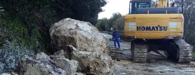 Cassaro| Frana, lavori in corso per ripristino viabilità sulla sp 45