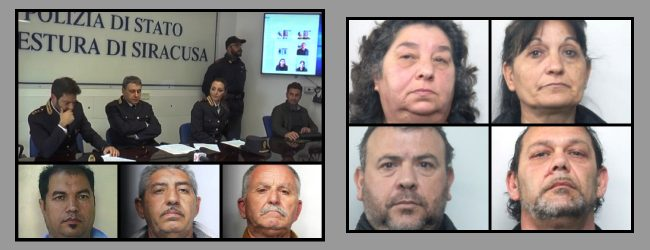 """Siracusa  Decapitato il """"Clan Trigila""""- Operazione """"Vecchia Maniera"""": la polizia arresta 8 persone"""