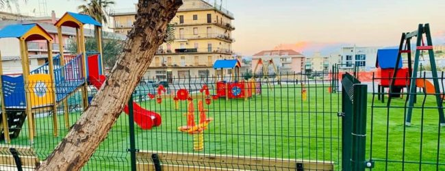 Lentini | Ecoparcogiochi di piazzale Michelangelo, domenica l'attesa inaugurazione