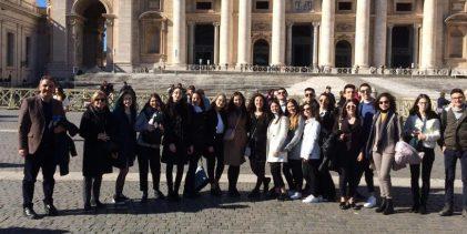 Augusta| A scuola di democrazia: i liceali del Mègara a Montecitorio e al Quirinale.