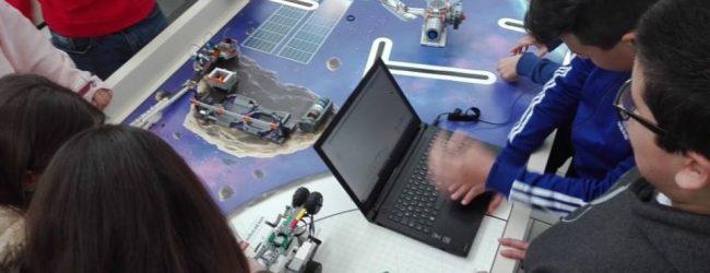 Augusta  La principe in una sfida mondiale di scienza e robotica.