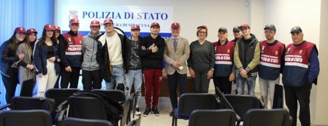Lentini   Legalità, gli alunni del liceo scientifico incontrano il dirigente del Commissariato