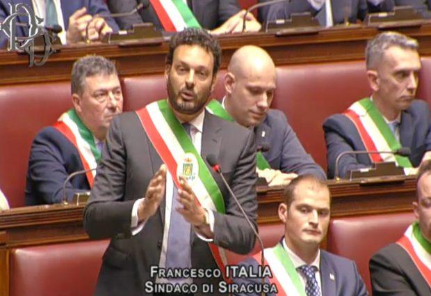 Siracusa| Il sindaco Italia interviene alla Camera sul tema dei Beni comuni<span class='video_title_tag'> -Video</span>