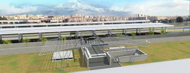 Catania| Aeroporto, Musumeci e Falcone al cantiere futura stazione ferroviaria