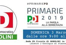 Rosolini  Primarie PD del 3 Marzo 2019: momento di apertura e confronto.