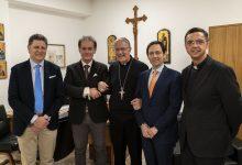 Siracusa| L'assessore Ruggero Razza in visita alla Fondazione Sant'Angela Merici