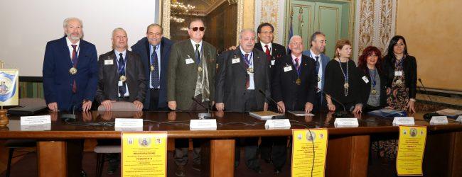 Palermo  Nell'Accademia dei poeti siciliani gli augustani Evoli e Pricoco.
